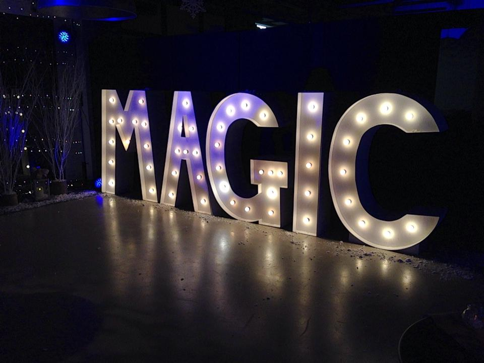 Light Up Letters Magic